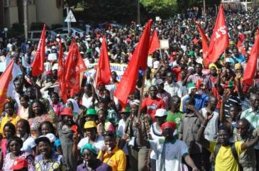 Burkina Faso picture uprising